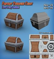 LowPoly Model - Treasure Chest by Scifer