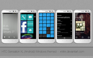 "HTC Sensation XL ""running windows"" by xNiikk"