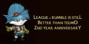 Rumble 2nd Anniversary by igaki