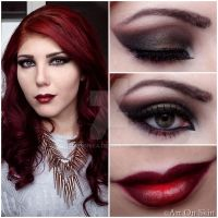 Vampy Look by hennyka