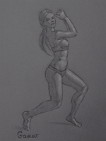 Figure Drawing #22 by AngelGanev