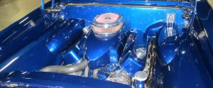 67 Chevelle engine closeup by zypherion