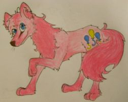 Pinkie Pie Wolf by HaterThePony