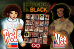 Red vs. Vee - OITNB/Street Fighter Crossover by tokyo-terror