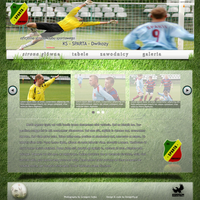Football layout by artwebdesigner