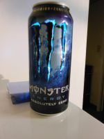 Monster Energy Absolute Zero Can Light I by chaptmc
