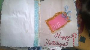 DA Holiday Card Project - Made by Rae 1 Inside by CalicoWoolfe