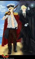 :APH: Pirate Gentlemen BG color by Weaslegirl96