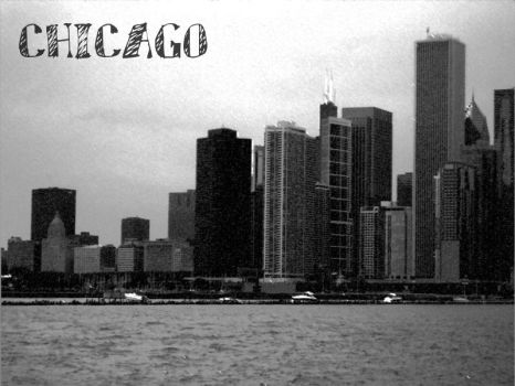 Chicago: Postcard by Mahkohime