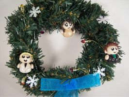 Buffy The Vampire Slayer Wreath by sweet-geek