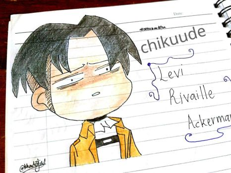Levi Rivaille Ackerman by chikuude