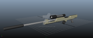Sniper Rifle Version 1 by LeoCronis
