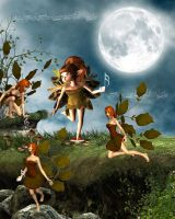 Dance Of The Sugar Plum Fairies by VisualPoetress