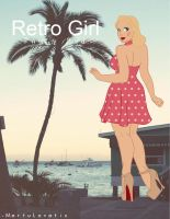 Retro Girl by MartuLovatic