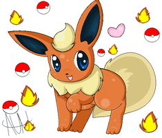 My Flareon by aunRina