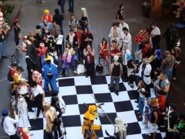 Cosplay Chess by LazyPandas
