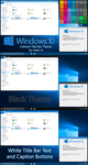 Colored Title Bar Theme for Windows 10 by mare-m