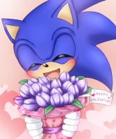 Sonic - Happy Valentine by ScandinavianMonkey