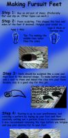 Fursuit Feet tutorial by jmillart