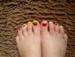 LietPol (Lithuania and Poland) toenails by Katie by Annanious84