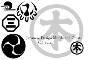 Japanese motifs and crests 2 by Arkangel007