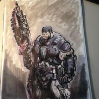 Marcus Fenix - Gears of War by JaredPrime