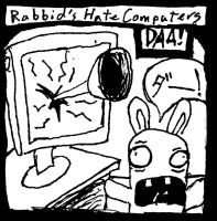 Rabbids Hate Computers by JRein