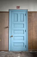 What's Behind the Blue Door by Johnny23xx