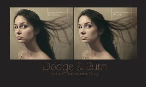 Dodge and Burn action by iilva