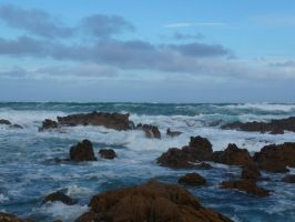 Stormy sea 3 by Lemondjinn