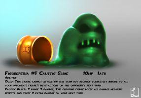 Trading figure concept- Caustic Slime by metalliam