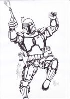 jango fett by petethefreak