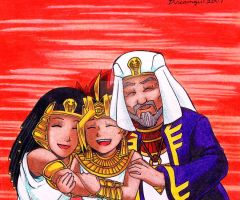 .: Atem's Family :. by Dreamgirl2007