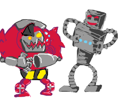 Gay Robots. You heard me. I want some gay robo by iamtreXD