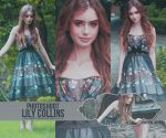 +Lily Collins Photopack by MissJanePattinson