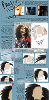 Spiky-Fluffy Hair Tutorial by Ano-Ni