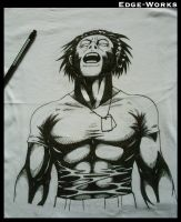 Wolverine t-shirt WIP - 2 by Edge-Works