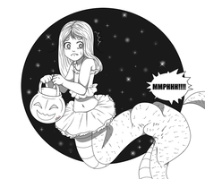 Trick and Treating - Voretober 10/7/2016 by Just-A-Little-Vore