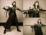 sephiroth by kevsaxelle