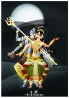 The Dance of ShivanSakthi by indians