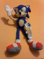 Sonic Plush by olgolugo