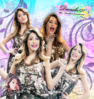 Martina Stoessel Blend by DIANELA151