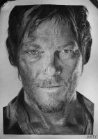 Norman Reedus by Tema-Arty
