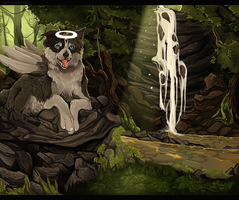 The Creek by MapleSpyder