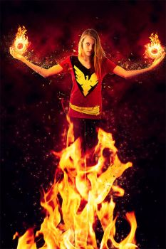 Marvel Shoot: Daughter of Phoenix (Rachel Summers) by Zeete