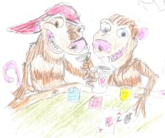 Poker 'Possums by RexcoCorps