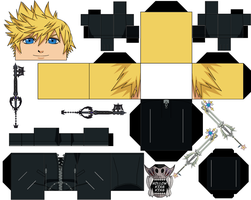 Roxas by hollowkingking