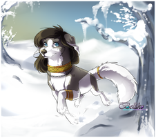 AT: Snow day by Belliko-art
