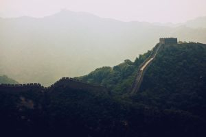 Great Wall by weruninhalflight