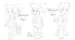 Alice Fry's Evolution by MissFuturama